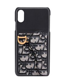 Christian Dior Saddle iPhone XS Max Case Black
