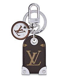 Louis Vuitton Travel Tag bag charm and key holder M64179