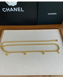 Chanel Waist Chain Belt Golden