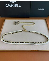 Chanel Waist Chain Belt Black