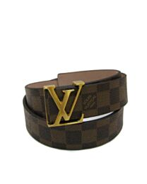 LV Intials Damer Azur Belt M9807S Brown