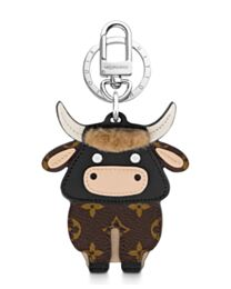 Louis Vuitton Chinese New Year Bag Charm And Key Holder M80218 Brown