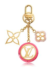 Louis Vuitton Colorline Bag Charm And Key Holder M64525 Pink