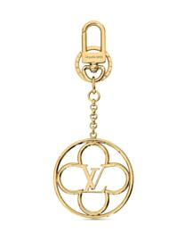 Louis Vuitton Flower Finesse Bag Charm And Key Holder M69002 Golden