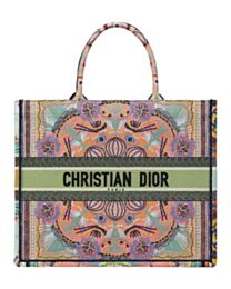 Christian Dior Book Tote Pink