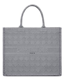 Christian Dior Cannage Embroidery Dior Book Tote