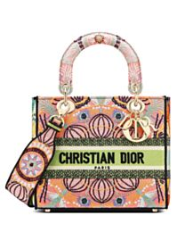 Christian Dior Medium Lady D-Lite Bag Pink