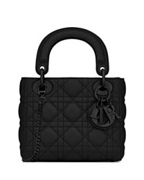 Christian Dior Mini Lady Dior Flap Bag Black