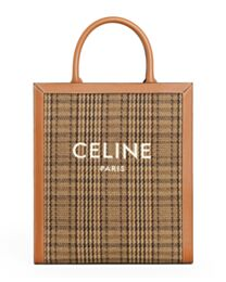 Celine Small Vertical Cabas Celine 1920821 Coffee