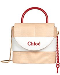 Chloe Small Aby Lock Bag Apricot