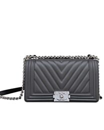 Chanel Medium Boy Handbag A67086 Dark Gray