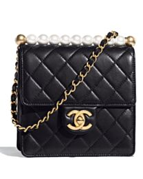 Chanel Flap Bag AS0584 Black