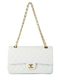 Chanel Women's Classic Jumbo Flap Bag A01112 White