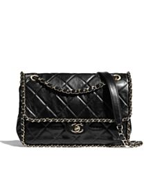 Chanel flap bag Black
