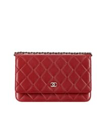 Chanel Classic Quilted WOC Wallet on Chain A33814