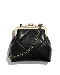 Chanel Clutch With Chain AP1555 Black