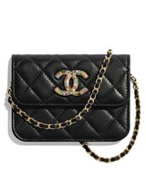 Chanel Clutch With Chain AP1942 Black