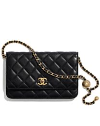 Chanel Wallet on Chain AP1450 Black