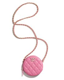 Chanel Clutch With Chain AP2034 Pink