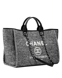 Chanel Large Tote A66941 Gray