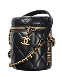 Chanel Small Vanity Case AS2735 Black
