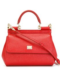 Dolce & Gabbana Small Miss Sicily Small leather shoulder bag