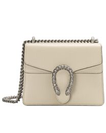 Gucci Dionysus mini leather bag 421970 Cream