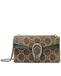 Gucci Dionysus GG velvet small shoulder bag 499623