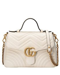 Gucci GG Marmont small top handle bag 498110