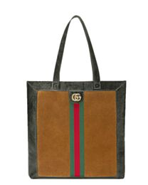 Gucci Ophidia suede large tote 519335 Coffee