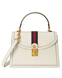 Gucci Ophidia Small Top Handle Bag With Web 652683