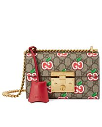 Gucci Chinese Valentine's Day Padlock small shoulder bag 409487 Red
