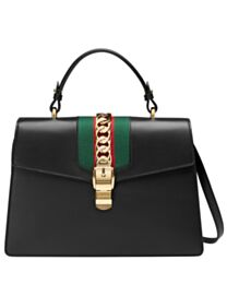 Gucci Sylvie Leather Top Handle Bag 431665