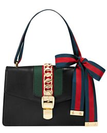 Gucci Sylvie Leather Shoulder Bag 421882