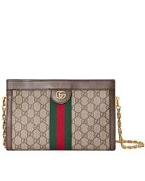 Gucci Ophidia GG small shoulder bag 503877 Dark Coffee