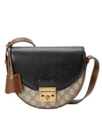 Gucci Padlock small shoulder bag Black