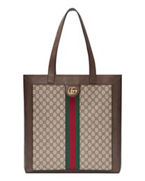 Gucci Ophidia soft GG Supreme large tote 519335 Coffee