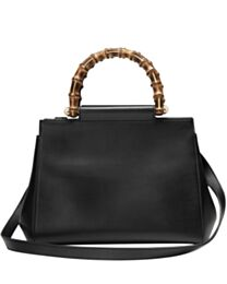 Gucci Nymphaea leather top handle bag 453767