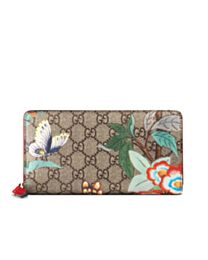 Gucci Multicolor Tian Zip Around Wallet 424893