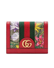 Gucci Ophidia GG Flora card case wallet 523155