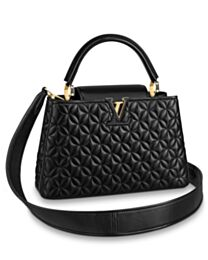 Louis Vuitton Capucines PM M55366 Black