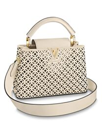 Louis Vuitton Capucines BB M57228 Cream