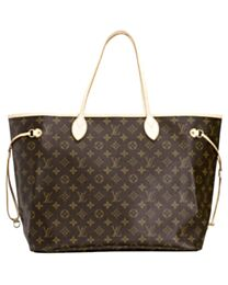 Louis Vuitton Monogram Neverfull M40157 Brown