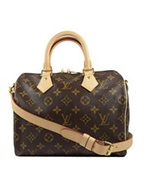 Louis Vuitton monogram speedy M40390 Brown