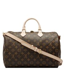 Louis Vuitton monogram speedy M40393 Brown