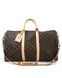 Louis Vuitton Monogram Keepall M41416 Brown