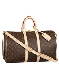 Louis Vuitton Monogram Keepall M41417 Brown