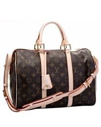 Louis Vuitton Monogram Canvas Speedy M42426 Brown