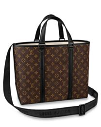 Louis Vuitton Weekend Tote PM M45734 Brown
