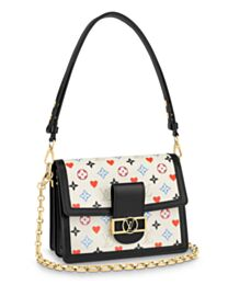 Louis Vuitton Game On Dauphine MM M57463 White